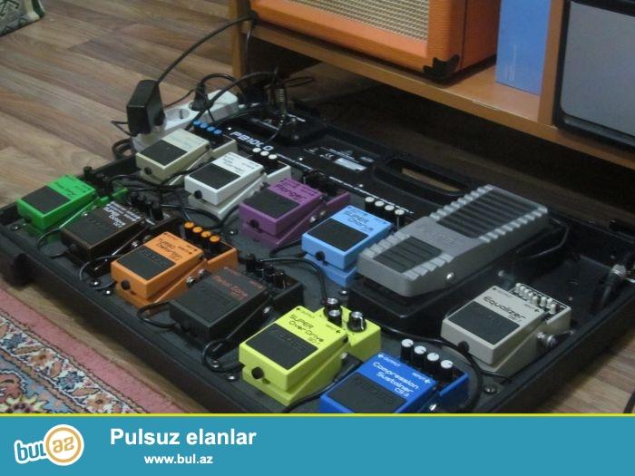 Digitech, Boss, Ibanez. Artec,NuX, Vox, Marshall,Lline 6 diger taninmish pedal markalari yalniz bizde <br /> <br /> H...