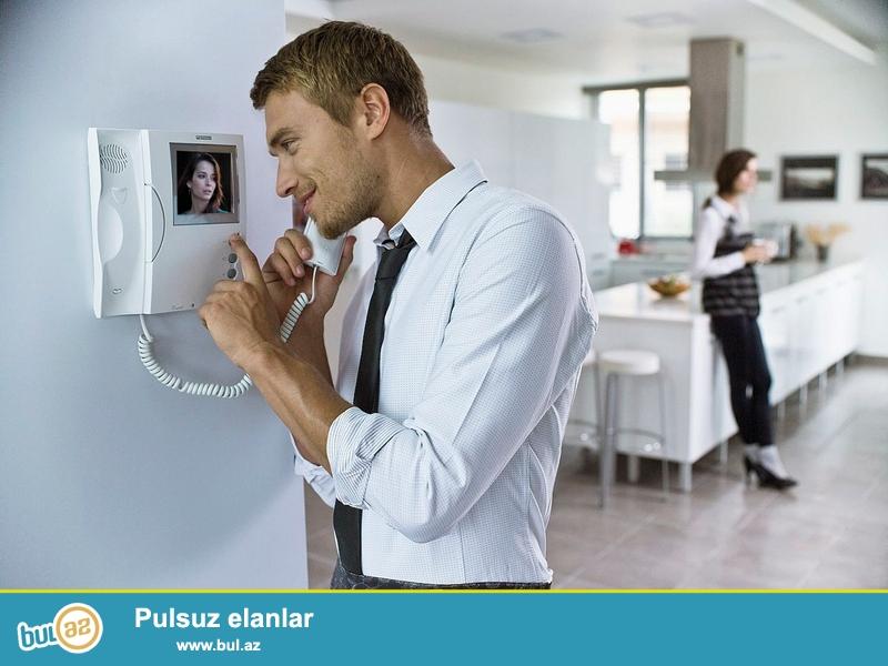 N-Tech Security müasir audio və video domafonların satışı və servisini təklif edir...