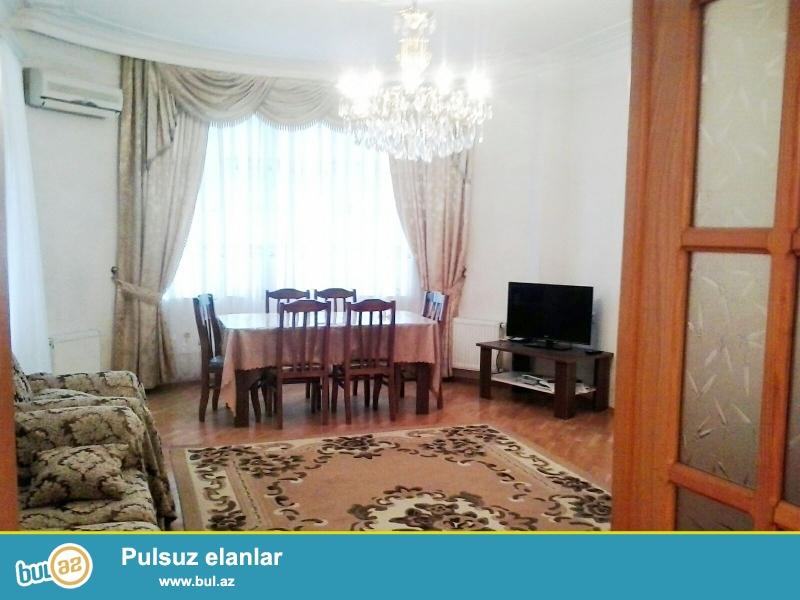 Новостройка! Cдается 4-х комнатная квартира в центре города, в Наримановском районе, по проспекту Ататюрк, за памятником А...