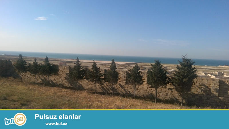 Novxanı qəsəbəsi, Sarı Qaya massivində dəniz mənzərəli 35 sot torpaq sahəsi satılır...
