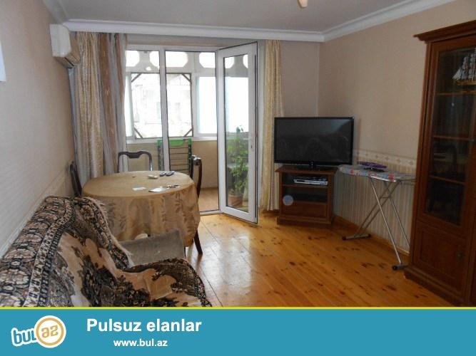 Сдается 2-х комнатная квартира в центре города, в Сабаильском районе, в поселке Баилова, по улице К...