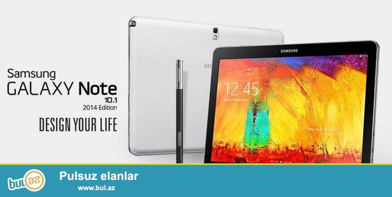 Samsung Galaxy Note 10.1 N8000 32Gb 200azn tecili satilir hec bir problemi yoxdur karobkasida var !!!!055 909 08 63   nomrede gedir