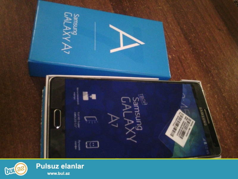 Samsung galaxy A7 Russiyadan hediyye olaraq getirilib,yeni kmidi...