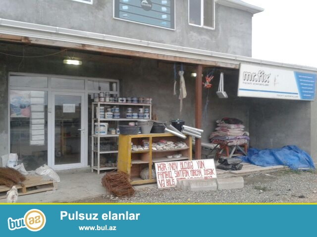 Sabunçu rayonu, Zabrat Kürdəxanı yolunun sağ kənarında, tam yol qirağı 3 sot torpaq sahəsində tikilmiş 2 mərtəbəli ev satılır...