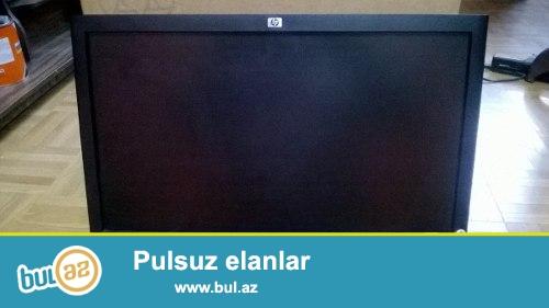 Monitor HP LE1851w 18.5'' (Wide LCD 1366x768)  NK033AA 235 manata alinib ozumkudu evde islenib 8 aya yaxin hec bir problemi yoxdur boyuk monitor aldigim ucun bunu satram