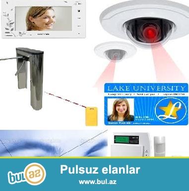 Təhlükəsizlik - müşahidə kameraları. <br /> <br /> Təhlükəsizlik kameraları təhlükəsizlik sisteminin ayrılmaz bir hissəsidir...