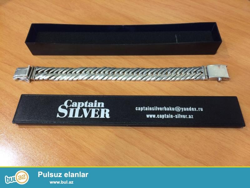 Captain Silver Qolbağ<br /> Gümüş \ 925