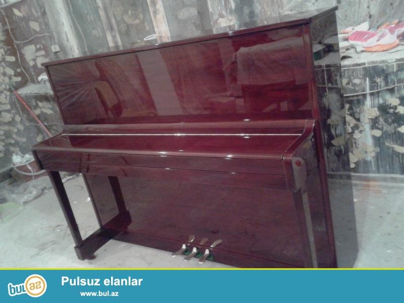 Çex, alman, sovet markaları pianinolar - her markadan yeni ve 2-ci el pianinolar topdansatış qiymetlerle satılır...