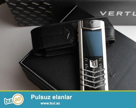Vertu Signature S design 1e1 ideal kopyadir hec neyi ile ferqlenmir, elde var hal hazirda bir cox renglerle nagd satilir...