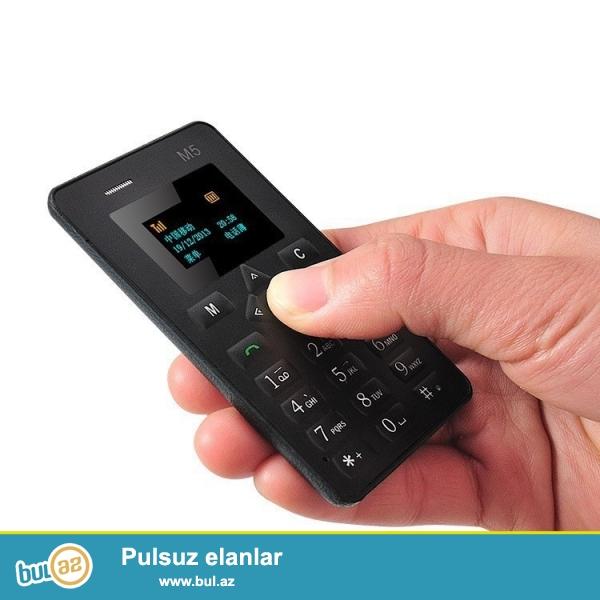 Yeni sinqapur istehsalı original Dunyanın en nazik balaca telefonu Aiek m5...