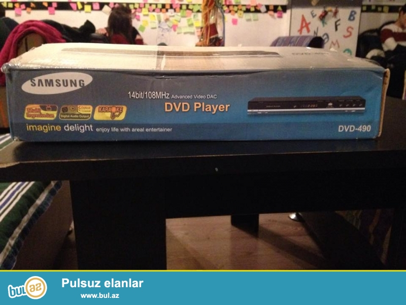 Tezedir. Original Samsung DVD Player. USB girisi var.
