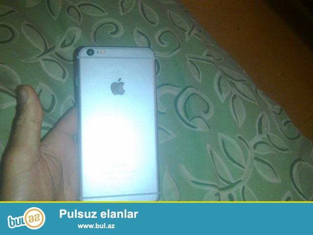 Iphone 6 plus satiram tezedi cizigi hec bir problemi yoxdu yaxsi veziyyetdedi kitayskdi barterde mumkundur