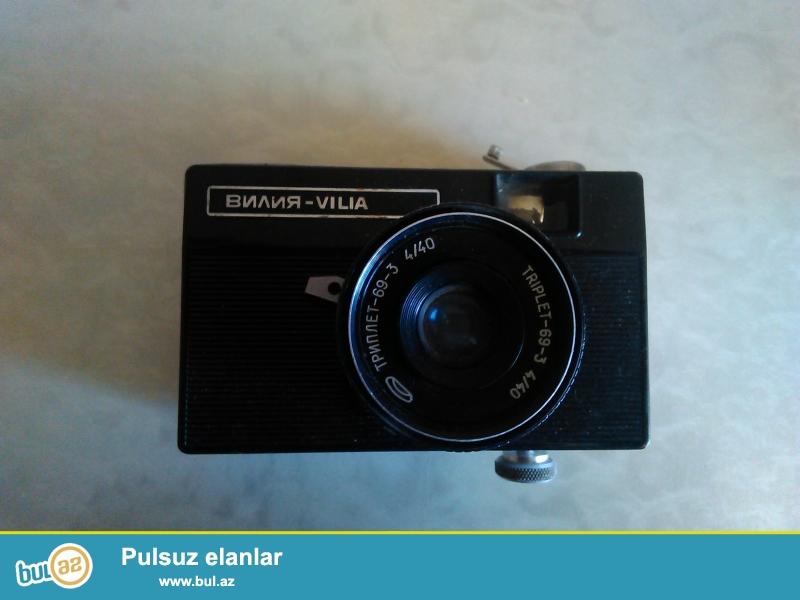 Retro Fotoaparat normal veziyyetde her ikisi 250 azn tegribi 1950-1960 ci illerind