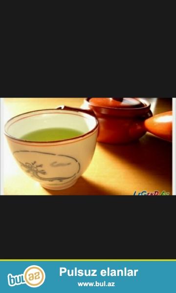 Gün ərzində olan yorğunluğu,yuksek tezyiq və s proseslər üçün təbii çay...