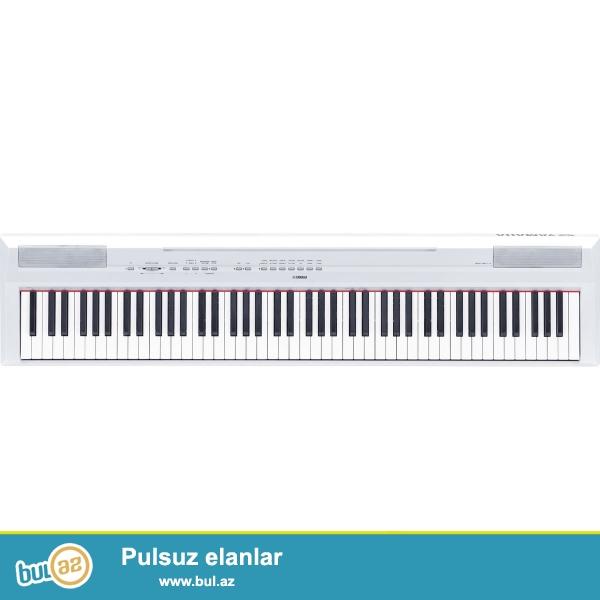 Yamaha elektron piano satilir. 88 dillidr teze kimidir cemi iki ay islenib