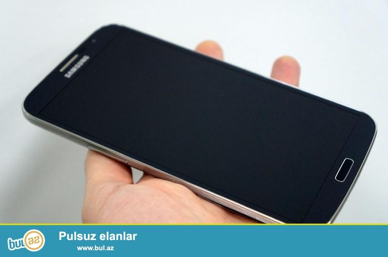 Samsung Galaxy Mega GT9152 (Qara) Satiram! Ela veziyyetde az ishlenib, Korobkasi, qulaqciqlari, adapter senedleri...