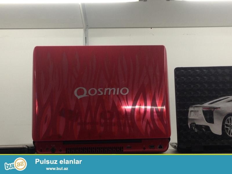 Toshiba Qosmio<br /> Pro:Dual 2 Dual<br /> Ram:4GB<br /> Vga:1GB<br /> Hdd:500GB<br /> Screen:17...