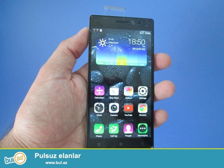Yeni, heç işlənməmiş, nömrə taxılmamış qutuda iki sim kartlı Lenovo Vibe X2 original smartfon satılır...