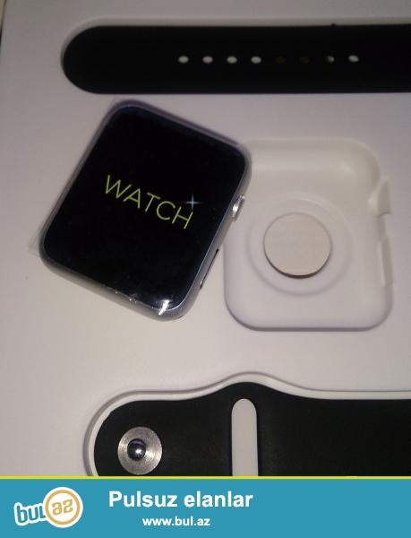 Apple whatcin bire bir kopyasidir....bultuzla telefona qowulur....yenidir iwlenmiyib...uzunlugu 45...