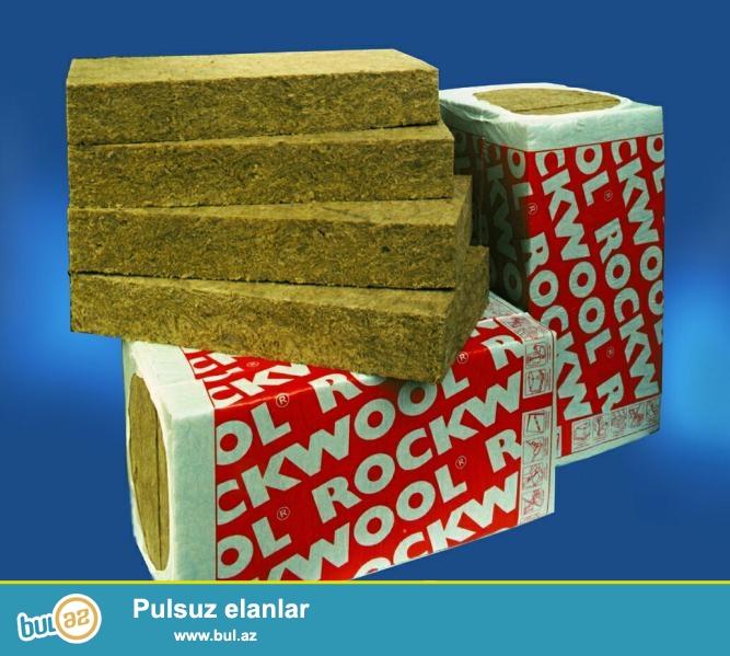 Rockwool izolyasi materiallari istehsalinda dünyanin öncü şirkətidir...