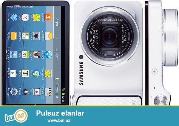 Tecili olaraq Samsung Galaxy Camera satılır. Baku Electronics-den alınıb...