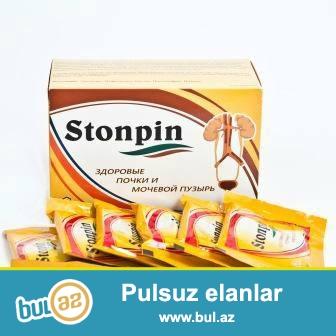 STONPIN- Boyreyinizde daş, kristal probleminden eziyyet cekirsiniz?<br /> Nefrolitik və sidiyi alkalize eden vasitedir...