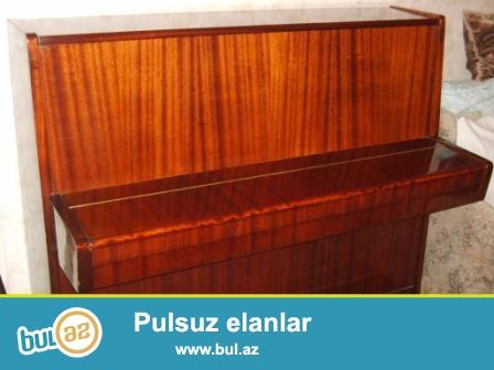 Ela veziyyetde AKKORD ve BELARUS pianoları satılır...