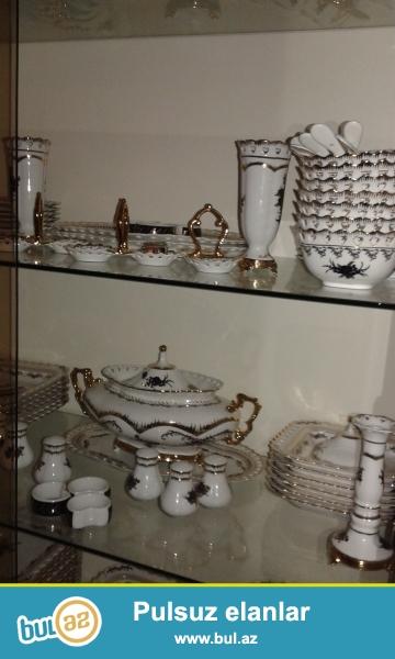 Qorka,sdenka içərisindəki servis,qab-qacaq dəsti ilə birlikdə 300 manata satılır...