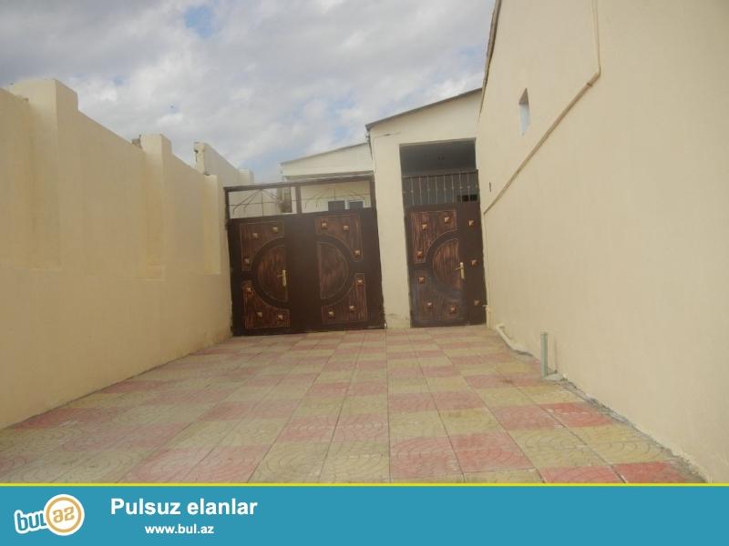 Bineqedide 170 nomreli marwurutun yolunda 1 sotda kursulu 3 otaq h/t, metbex temirli heyet evi tecili satilir...