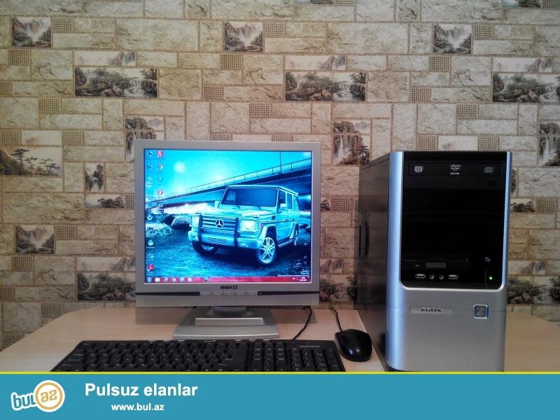 BEKO BG- 17 LCD Monitor <br /> Motherboard - ASUS P5KPL-AM LGA775 MicroATX<br /> Processor - Intel® Dual-Core E2200 2...