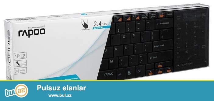 Ultra slimdi nazik dizayına malikdir mouse və keyboard 2 si birlikdədi mouse notebooklardakı kimidi kənarında yerləşir həm rəqəmsal düymələr var tocscrendi həmdə mouse funksiyasın yerinə yetirir...