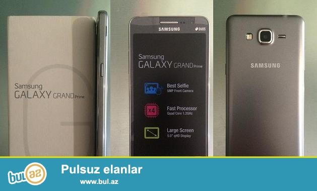 Samsung Galaxy Grand Prime (G530H/Duos) Telefon yenidi, karobkada, asagi yeri var.