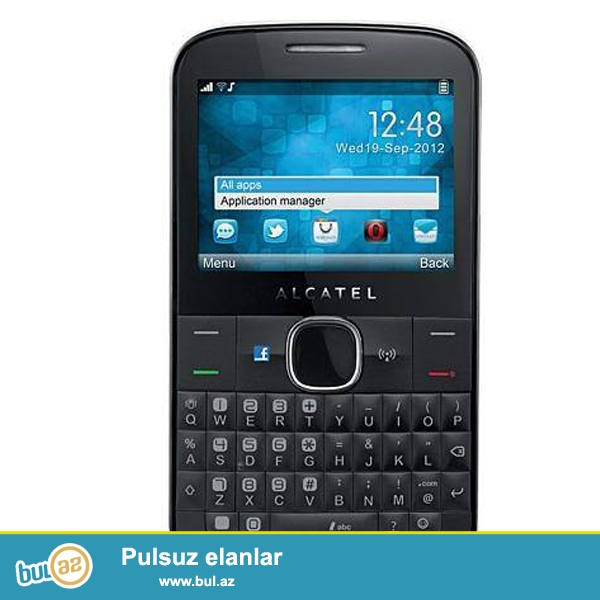 Alcatel Onet Touch telfonu satılır.Telefon ideal vəziyyətdədir,hec bir problemi yoxdu...