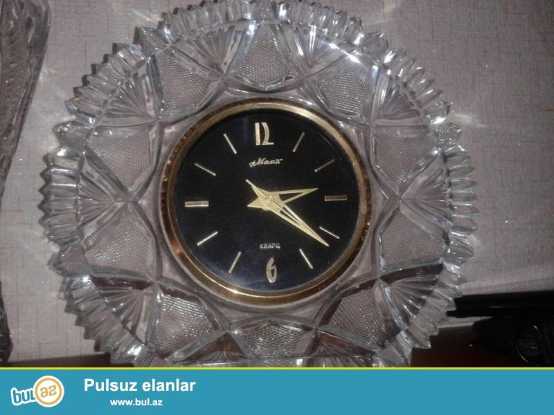 qədimi mayak saatı satıram təxmini 35 . 40 ilin saatı olar başı çıxan bilir bu saatların dəyərini...