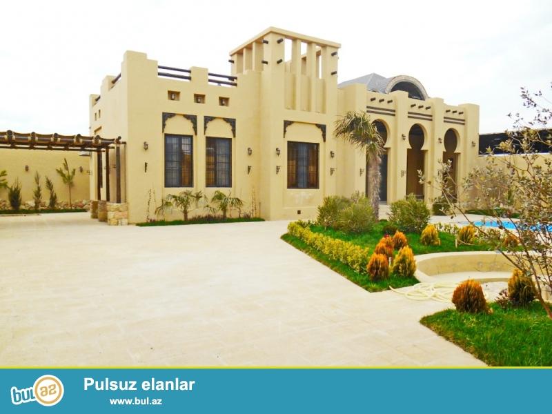**РУФАТ*АЙНУР** Срочно продается новопостроенный 1но этажный дом в Мардакане в мараканском стиле, расположенный на 6ти сотах приватизированной земли ,170 кв...