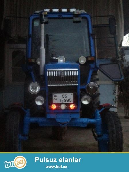 Traktor təcili satılır, əla vəziyyətdədir, hər şeyi təzədir, yaxşı baxılıb, ciddi alıcılar zəng vursun
