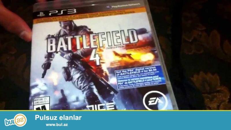 Battlefield 4  ps 3   ucun satilir