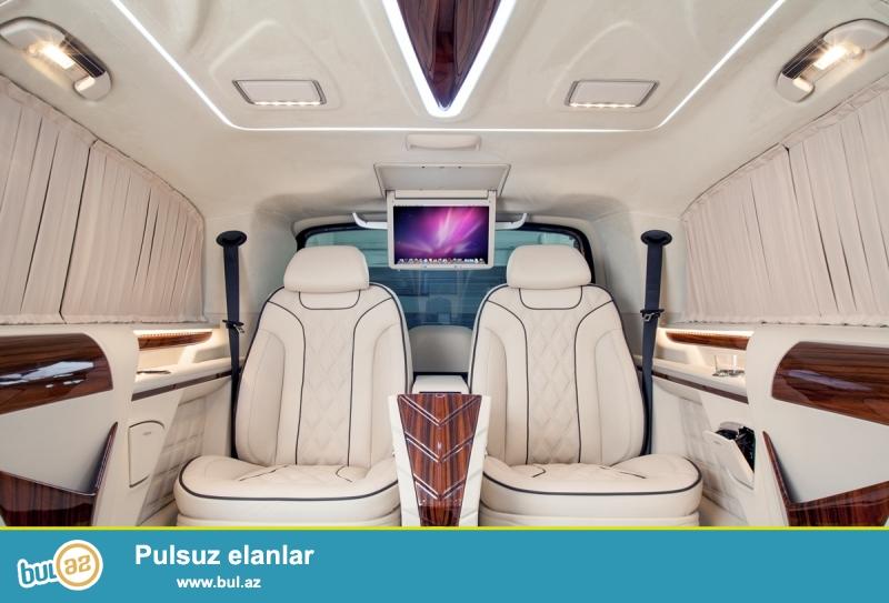 Mercedes V class Viano Vito dizayn edilir satılır