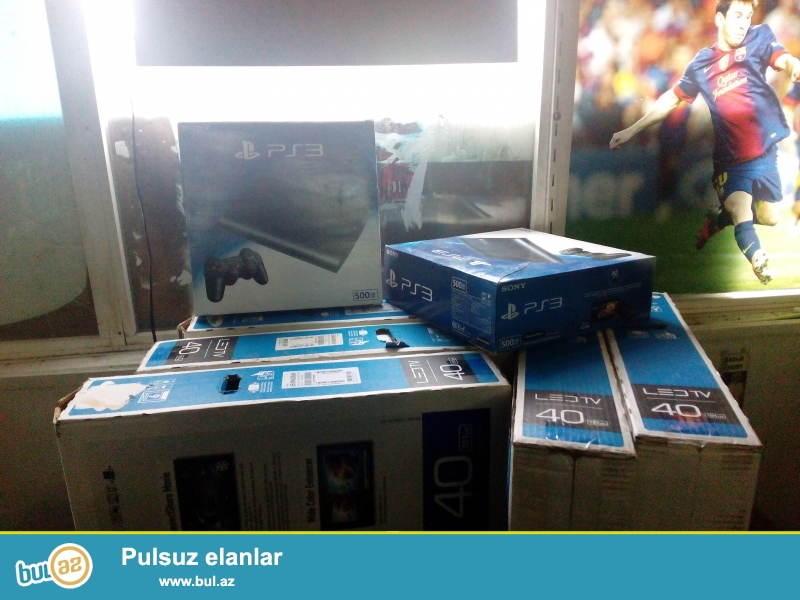Playstation 3 Klub üçün lazım olan Avadanlıq dəsti satıram. Hər biri işlək vəziyyətdədir...