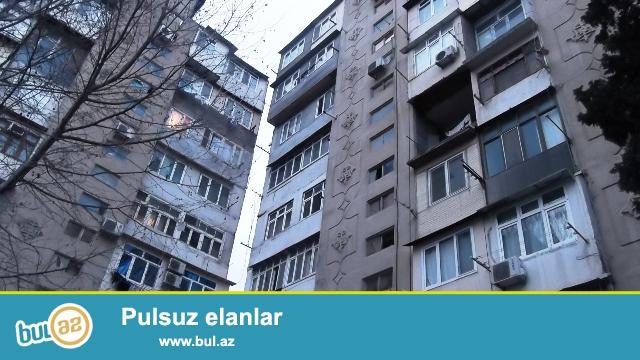 """Binəqədi rayonu, 6mkr, """"Z.Əliyeva"""" adına klininka ilə üzbəüz , leninqrad layihəli binada 2 otaqlı mənzil satılır..."""