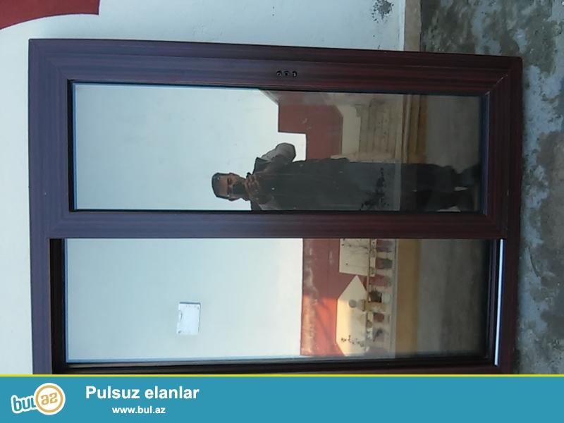 Plastik pencereler tezeden secilmir.ölculeri.110*150 sm 18 denedir.