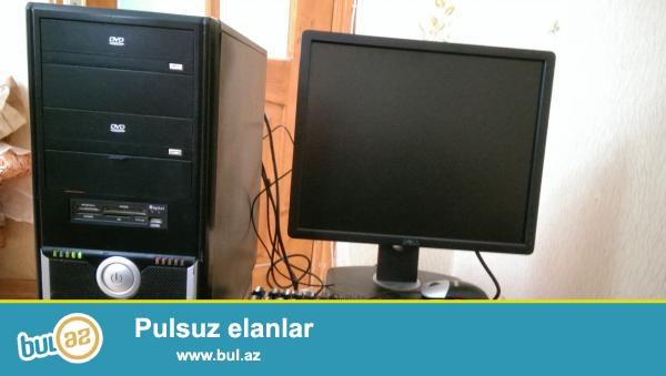 Personal komputer satilir ela islek veziyyetdedi hec bir problemi yoxdu 19 ekran LG<br /> Windows 7  <br /> ddr 3 <br /> hdd 250<br /> ram 2 gb <br /> vga 1<br /> Dual core prosessor