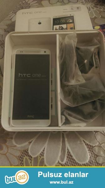 HTC one mini tep teze koropkada sim kart bele salinmayib 16 gb yaddas ucuz tapmazsan...
