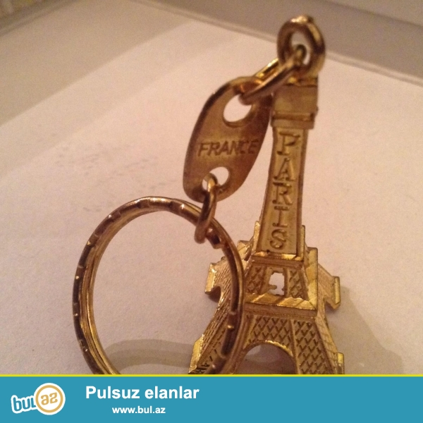 Brelok acarcun <br /> Franca dan gonderibler Paris weherinden pay...