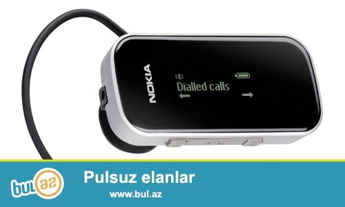 Nokia BH-902 Bluetooth qulaqcıq satılır, Qiyməti 15-Azn...