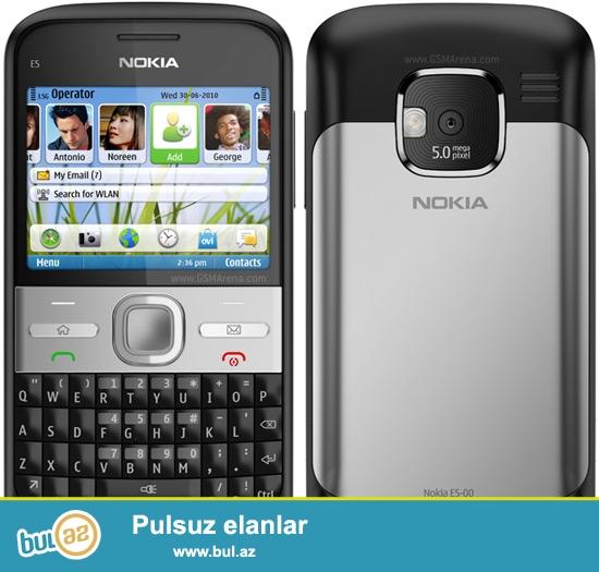 Nokia E5 satılır, Tel normal haldadı