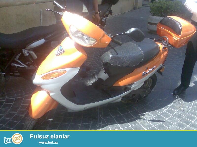 Təcili moped satiram.<br /> Çatdirilma vəya şəxsi istifadə üçün...