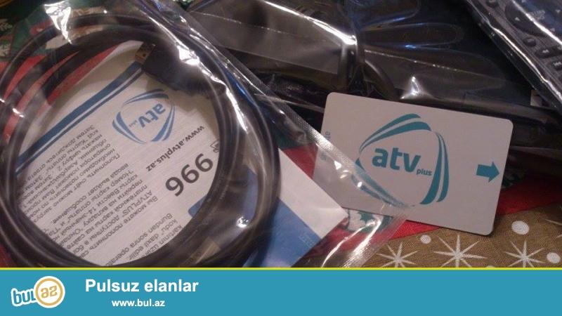 Çox təcili atv plus antennası satılır. Yenidir...