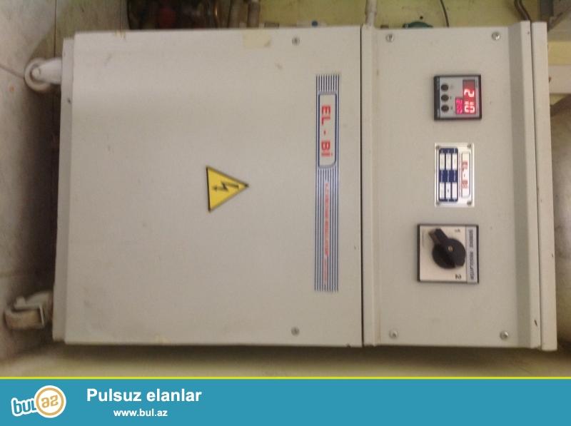 Elektrik tenzimleyicisi  40 KVA.... az islenib oz evimindir EL-BI...