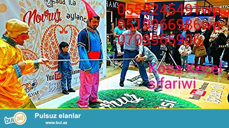 Novruz Bayramlarinda Koca ve Kechel sifarishi. bahar qizi Esl Bayrami bizimle yashayin...